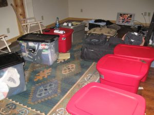 Packing it all up to make the move to Belize